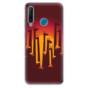 Odolné silikónové puzdro iSaprio - Giraffe 01 - Honor 20e vyobraziť