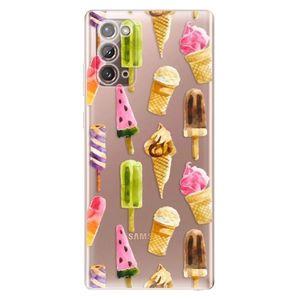 Odolné silikónové puzdro iSaprio - Ice Cream - Samsung Galaxy Note 20 vyobraziť