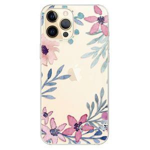 Odolné silikónové puzdro iSaprio - Leaves and Flowers - iPhone 12 vyobraziť