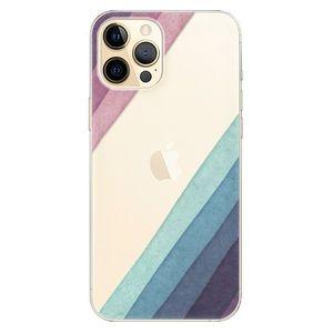 Odolné silikónové puzdro iSaprio - Glitter Stripes 01 - iPhone 12 vyobraziť