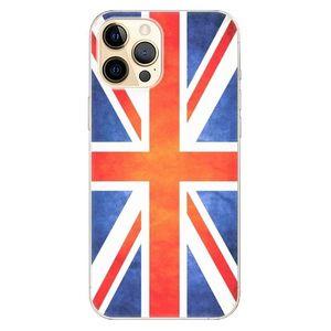 Odolné silikónové puzdro iSaprio - UK Flag - iPhone 12 vyobraziť