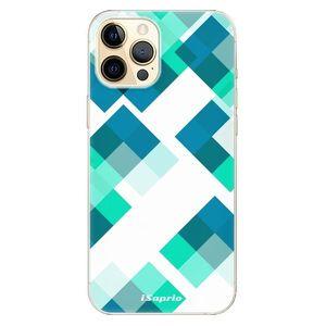 Odolné silikónové puzdro iSaprio - Abstract Squares 11 - iPhone 12 vyobraziť