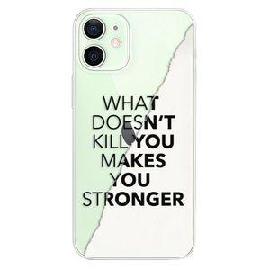 Odolné silikónové puzdro iSaprio - Makes You Stronger - iPhone 12 vyobraziť
