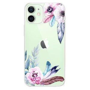 Odolné silikónové puzdro iSaprio - Flower Pattern 04 - iPhone 12 vyobraziť