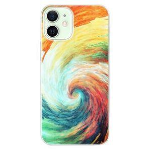 Odolné silikónové puzdro iSaprio - Modern Art 01 - iPhone 12 vyobraziť