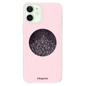 Odolné silikónové puzdro iSaprio - Digital Mountains 10 - iPhone 12 vyobraziť