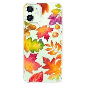Odolné silikónové puzdro iSaprio - Autumn Leaves 01 - iPhone 12 vyobraziť
