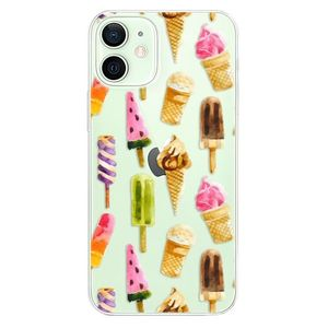 Odolné silikónové puzdro iSaprio - Ice Cream - iPhone 12 mini vyobraziť