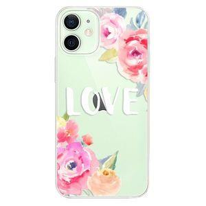 Odolné silikónové puzdro iSaprio - Love - iPhone 12 mini vyobraziť