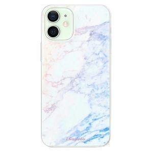 Odolné silikónové puzdro iSaprio - Raibow Marble 10 - iPhone 12 vyobraziť
