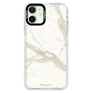 Silikónové puzdro Bumper iSaprio - Marble 12 - iPhone 12 mini vyobraziť