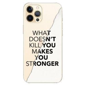 Plastové puzdro iSaprio - Makes You Stronger - iPhone 12 Pro vyobraziť