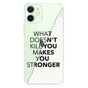 Plastové puzdro iSaprio - Makes You Stronger - iPhone 12 mini vyobraziť