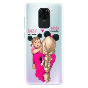 Plastové puzdro iSaprio - Mama Mouse Blond and Girl - Xiaomi Redmi Note vyobraziť