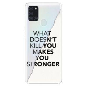 Plastové puzdro iSaprio - Makes You Stronger - Samsung Galaxy A21s vyobraziť