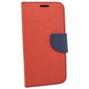 Puzdro Fancy Book Xiaomi Mi 10 - červeno-modré vyobraziť