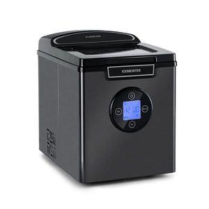 Klarstein Icemeister 2G, výrobník ľadu, 12 kg/24 hod., LCD displej, nehrdzavejúca oceľ vyobraziť