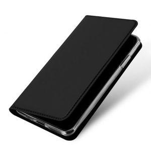 DUX DUCIS Skin Pro knižkové kožené puzdro na iPhone 11 Pro Max, čierne vyobraziť