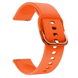 Samsung Galaxy Watch 3 41mm Silicone v2 remienok, Orange vyobraziť