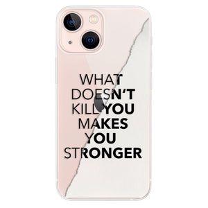Odolné silikónové puzdro iSaprio - Makes You Stronger - iPhone 13 mini vyobraziť
