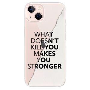 Odolné silikónové puzdro iSaprio - Makes You Stronger - iPhone 13 vyobraziť