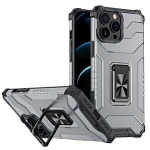 MG Crystal Ring plastový kryt na iPhone 13 Pro Max, čierny vyobraziť